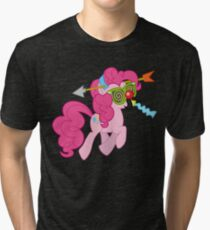 Pinkie Pie haters gonna hate Tri-blend T-Shirt