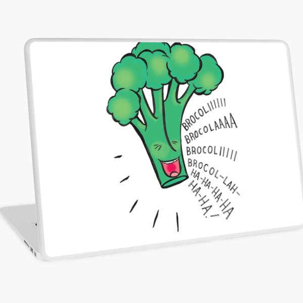 brocoli-brocola Laptop Skin