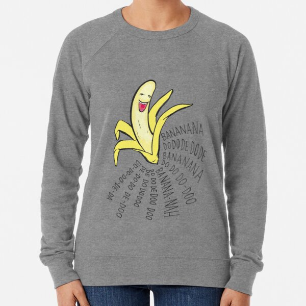 bananana Lightweight Sweatshirt