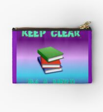 keep clear I'm a nerd Studio Pouch