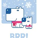 BRR! Poster by drawingbusiness