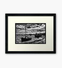 Leigh on Sea Framed Print