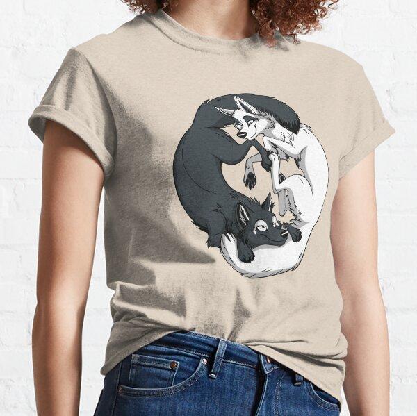 Yin & Yang Foxes Classic T-Shirt