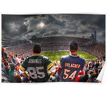 Bears vs. Packers HDR Poster