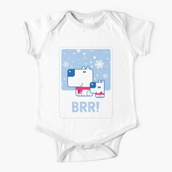 BRR! Short Sleeve Baby One-Piece