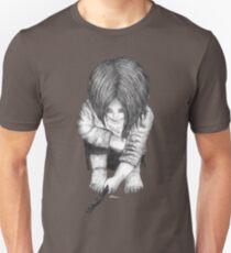 Alone... B/W Unisex T-Shirt