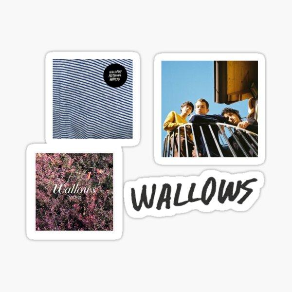 Wallows Set Sticker