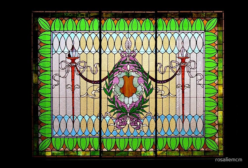 Stained Glass Window by rosaliemcm