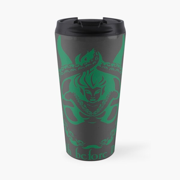 Death Before Decaf Siren Travel Mug