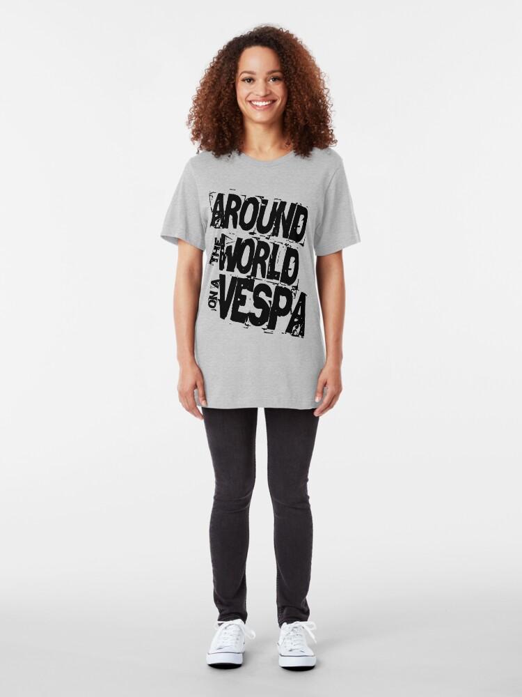 Alternate view of RTW on Vespa Slim Fit T-Shirt
