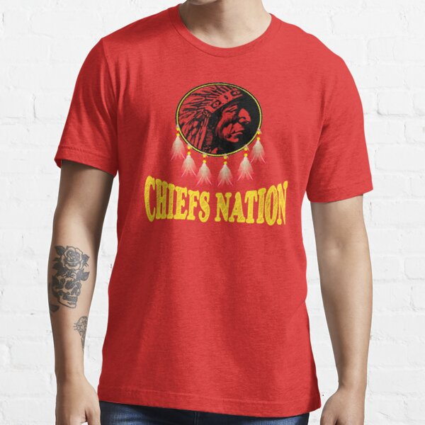 Chiefs Nation Missouri Football Fan Gift Essential T-Shirt