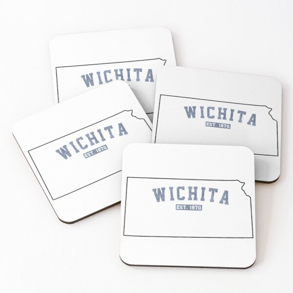 Wichita, Kansas Coasters (Set of 4)