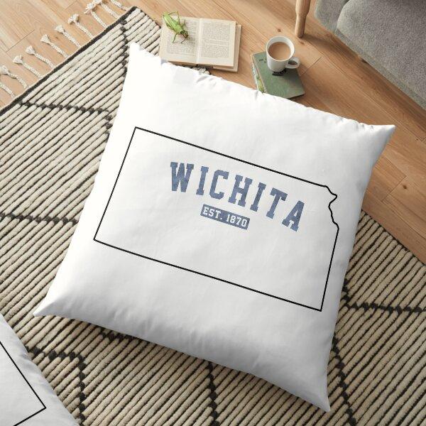 Wichita, Kansas Floor Pillow