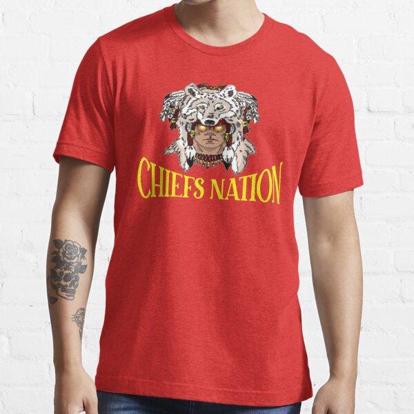 Chiefs Nation Unique Football Fan Gift Essential T-Shirt