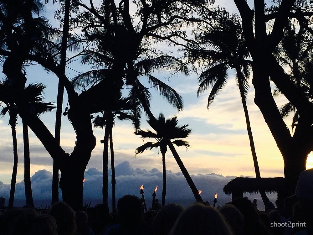 Hawaiian Silhouette  by shoot2print