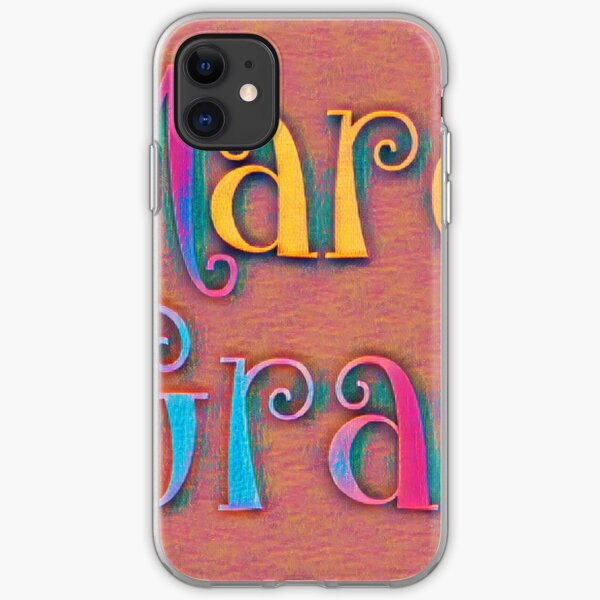 Mardi gras iPhone Soft Case