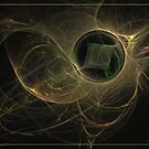 The missing cube by Fractal artist Sipo Liimatainen