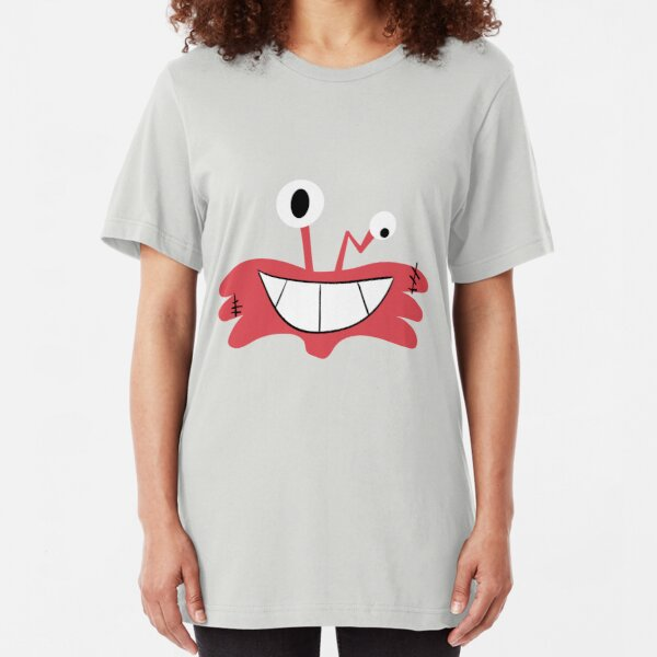 Wilt Face Foster's Home for Imaginary Friends Slim Fit T-Shirt