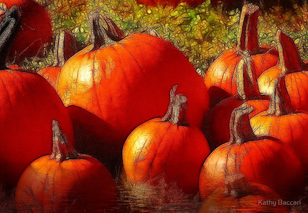 Fall Harvest - Textures by Kathy Baccari