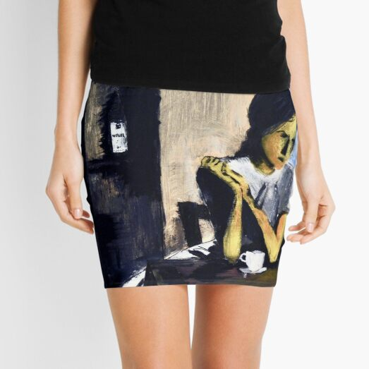 The Wait / L'attente Mini Skirt