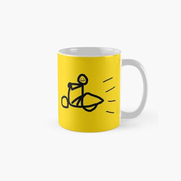 Coffee Vespa Eat Repeat Classic Mug