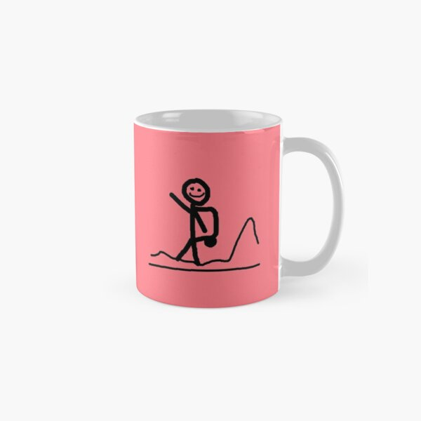 Coffee Travel Eat Repeat Classic Mug
