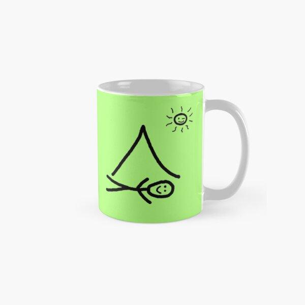 Coffee Camping Eat Repeat Classic Mug