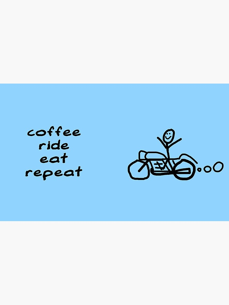 Coffee Ride Eat Repeat by worldvespa