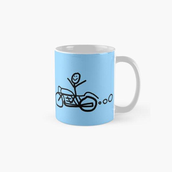 Coffee Ride Eat Repeat Classic Mug