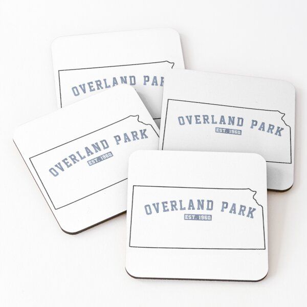 Overland Park, Kansas Coasters (Set of 4)