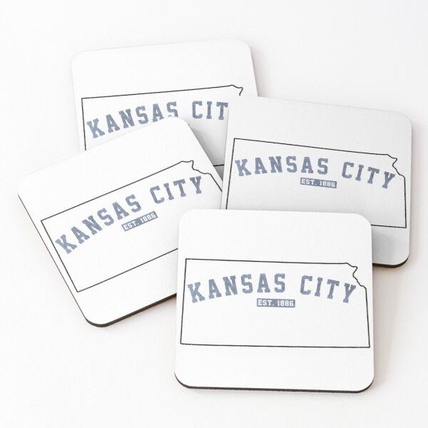 Kansas City, Kansas Coasters (Set of 4)