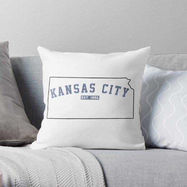 Kansas City, Kansas Throw Pillow
