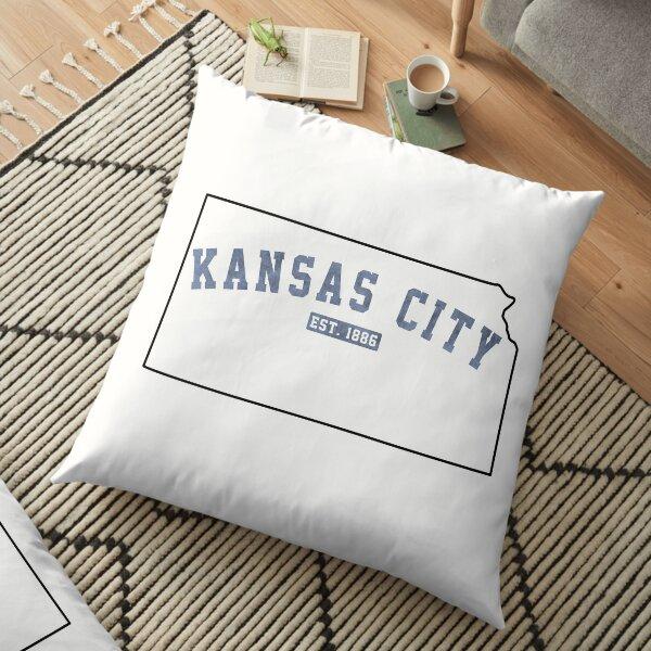 Kansas City, Kansas Floor Pillow