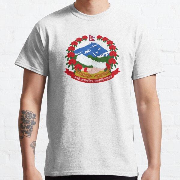 Armoiries du Népal T-shirt classique
