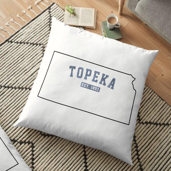 Topeka, Kansas Floor Pillow