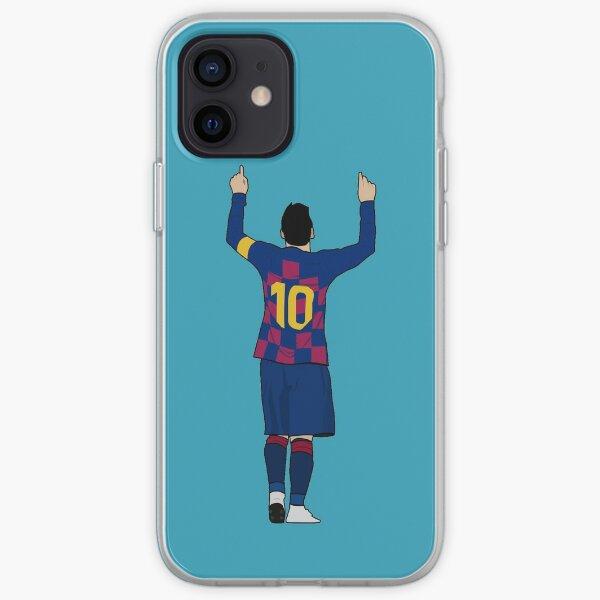 Messi Blue Funda blanda para iPhone