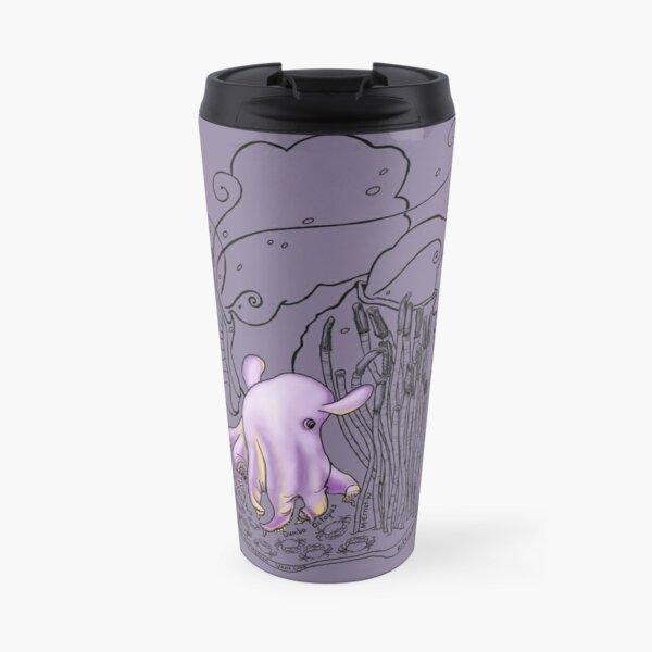 Cute Dumbo Octopus Doodle Travel Mug