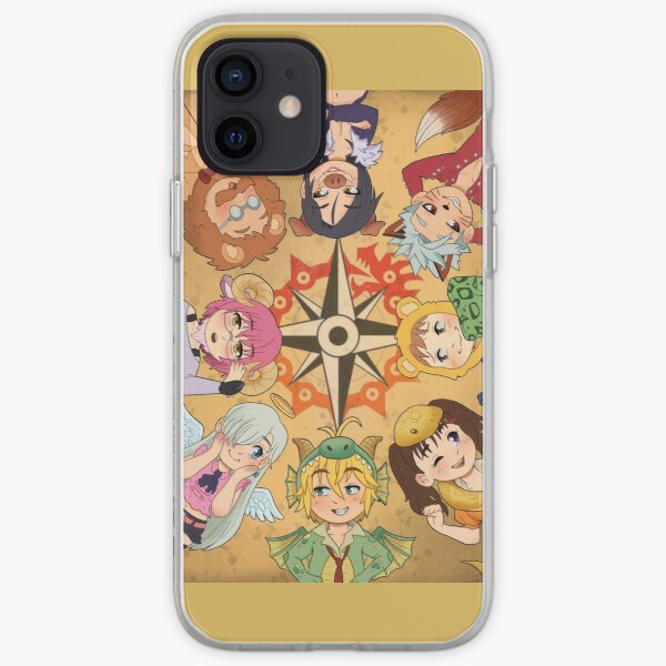 Seven Deadly Animal Sins iPhone Soft Case