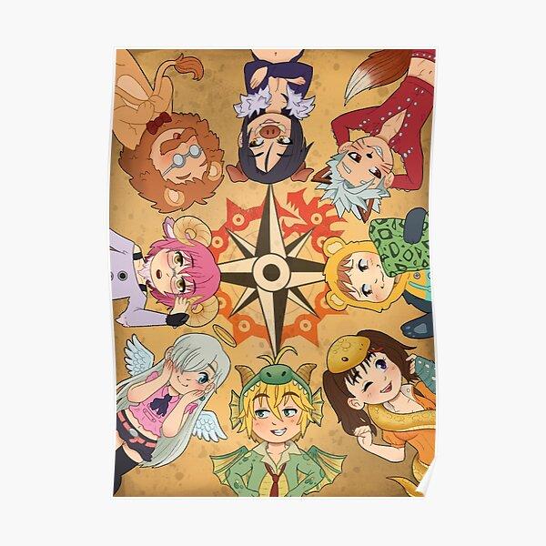Sept péchés d'animaux mortels Poster