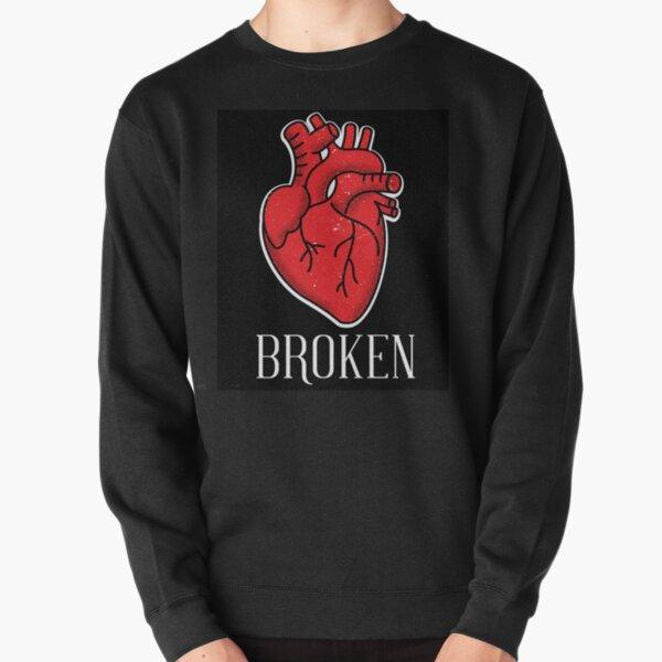 gebrochenes Herz Pullover