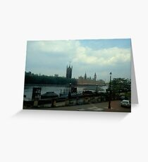 Houses of Parliment  &  Big Ben Greeting Card