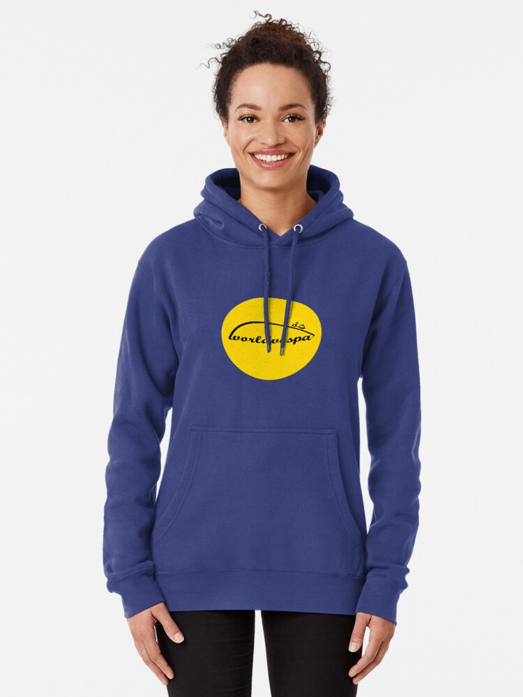 Alternate view of Worldvespa Logo Pullover Hoodie