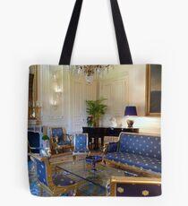 Salon bleu Tote Bag