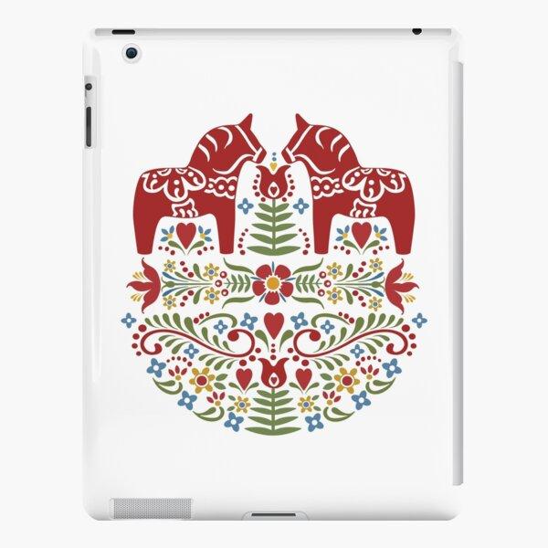 Scandinavian Dala Horse, Swedish Wedding iPad Snap Case
