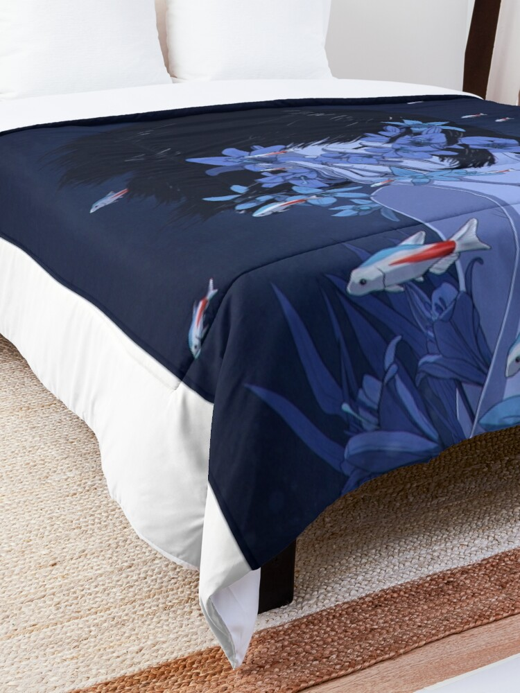 Alternate view of Perfect blue Comforter