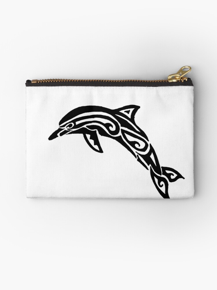 Dolphin Tribal Design  by KitayamaDesigns