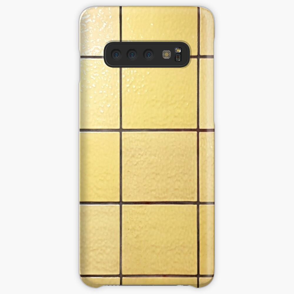 DDR U-Bahn Gelb Case & Skin for Samsung Galaxy