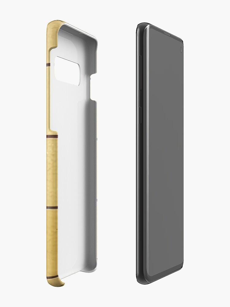 Alternate view of DDR U-Bahn Gelb Case & Skin for Samsung Galaxy
