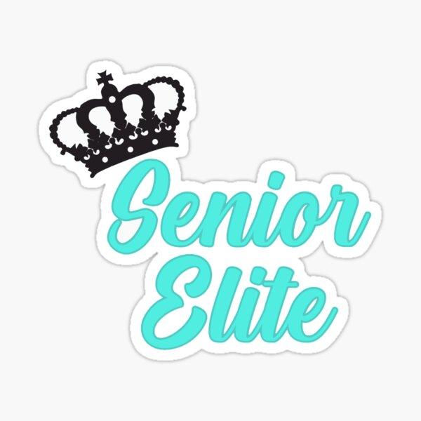 senior elite Sticker