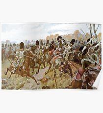 Richard Knötel Battle of Hanau Poster